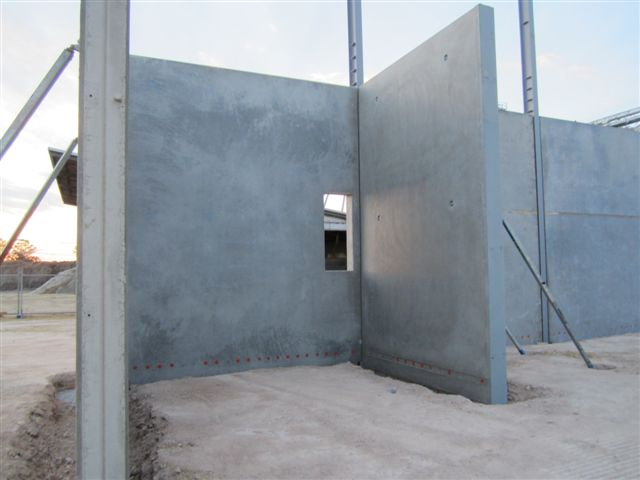 Concrete Building Panels : Concrete tilt panels concreter brisbane